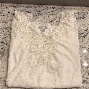 Dress Barn Lace Top Size XL NWOT